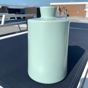 Mitchell Gold + Bob Williams sky blue vase medium